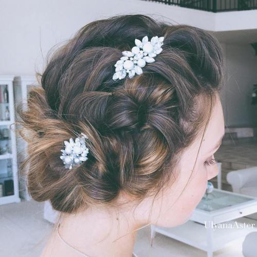 wedding in bali, wedding hairstyle
